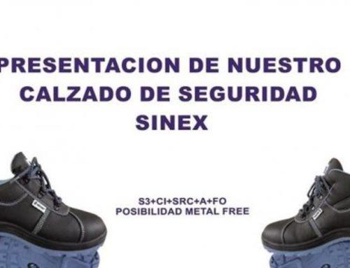 NUEVO CALZADO SINEX S3 METAL Y LIBRE DE METAL